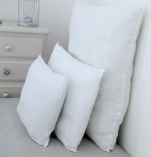 White pillow 40x60 cm Special fireproof 100% microfiber polyester