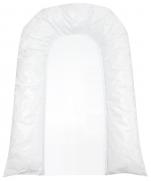 Changing mat 50x75 cm white PVC