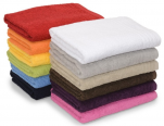 Towel, washcloth and cloth shower Boreal 100% cotton 450 gr/m²