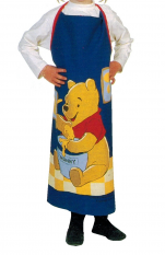 Winnie-the-Pooh Apron children 80x65 cm 100% cotton + small pocket