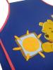 Tablier Winnie l'ourson enfant  65x44 cm 100% coton + petite poche