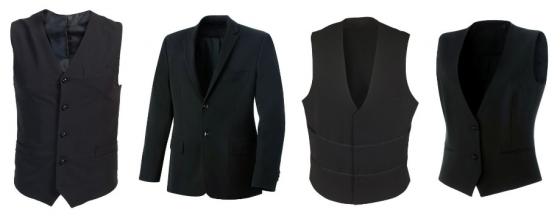 Suit Jacket - Waistcoat